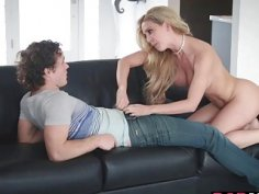 Hot boyfriend 3some with Karter and Cherrie