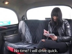Lucky sexy lady Tera Joy takes a free ride and fucks the driver