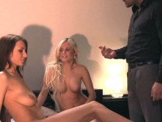 Group sex with lesbians and Laura Crystal