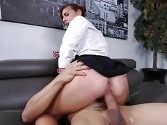 Teen Dakota Vixin fucked in the office