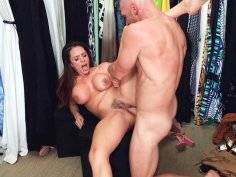 Big titted Ariella Ferrera gets pussy drilled by Johnny Sins