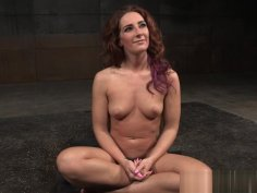 Squirting bdsm sub toyed and tied up by dom