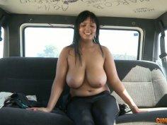 Juggy milf Jasmine Black gives a blowjob to massive cock