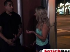 Blonde teen Valerie White gets banged in public
