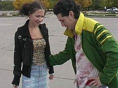 Russian roller skater