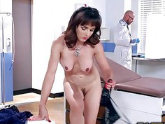 Cytherea swallows Dr Johnnys Sins big cock