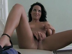 Beauties share a massive pecker during threesome