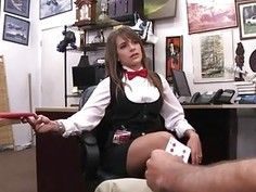 Amateur milf blowjob compilation Card dealer cashes in that pussy!