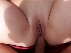 Cute gf tries out anal sex in the woods