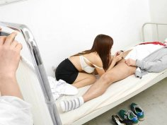 Great Japanese nurse at work