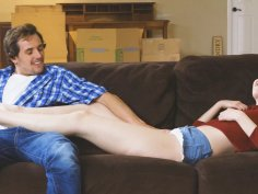 Cute slut Tyler Nixon has her pussy stretched out to the max