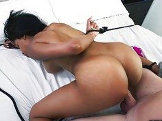 Brittney White hops in Peters big cock rides deep