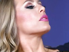 Johnny Sins eat and licks Nicole Aniston