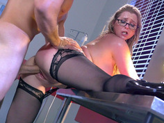 Sunny Lane lets her stubborn patient fuck her tight cunt