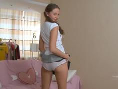 18 yo teen gets her ass fucked