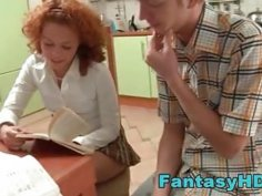 FantasyHD cute redhead girlfriend