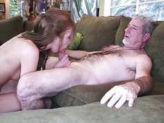 Molly Manson pounded by an old geezer