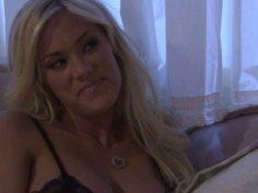 Gorgeous whore Shyla Stylez blows and rides cock