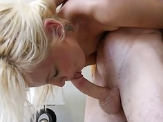 Hottie is very glad to acquire endless fucking act