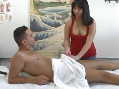 Sex and massage for a favourable man