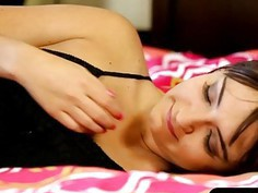 Babe Charlotte Cross in blindfolds banged by her masseur